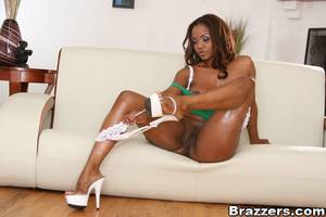 i love black milf pussy - ... Big titted ebony MILF Sinnamon Love shows her hot ass and pussy ...