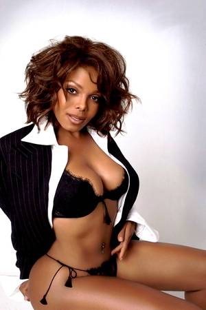 Janet Jackson Porn - In a blazer with no pants