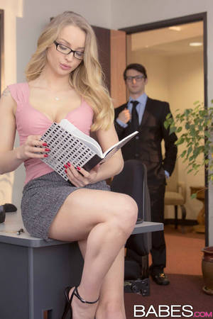 Babes Office Porn - Staci Carr