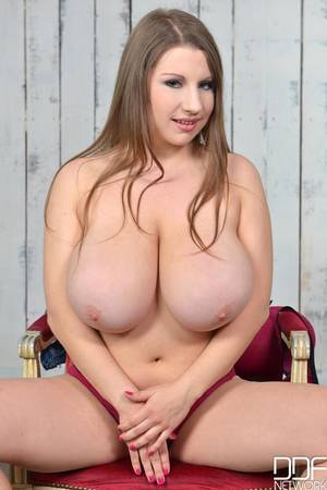 natural tits solo - Big Natural Boobs Newcomer's Titty Play Solo Debut Video with Samanta Lily