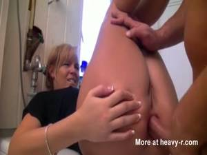 Forced Wife Sex Videos - Anal Sex With Sexy Blonde Wife