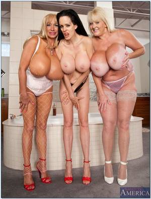 big tit orgy - Kayla Kleevage is part of a big Boob dream Orgy Picture 04