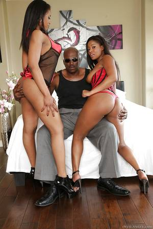 awesome extreme sex party - ... Big tits ebony ladies are taking part in a wild threesome sex party ...