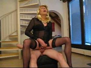 crossdressers fucking grannies - Sexy crossdresser fuck.