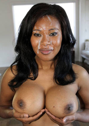 cum ebony boobs - An image by Son_of_nibbles: Proud breasts after |