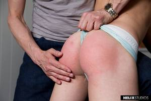 fresh spanked ass -