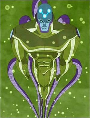 Fjortisar - Brainiac (comics) - Brainiac combined with Lex Luthor as seen in Justice  League Unlimited