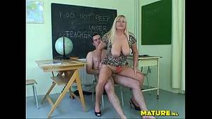 mature teacher - Mature Teacher Porn Video
