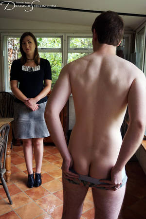 f m naked spanking - The Spanked Houseboy at Dreams of Spanking