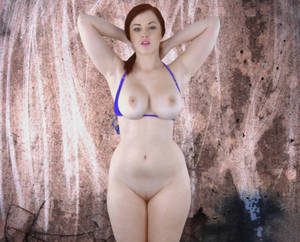 big tits anal redhead - Curvy redhead with lusciously big tits and - XXX Dessert - Picture 4