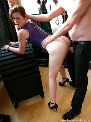 French High Heels Porn - ... Busty French amateur Vivienne L'Amour taking hardcore fucking in high  heels ...