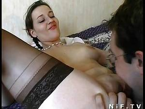 couple sex on bed - Amateur French Couple Have Sex On The Bed