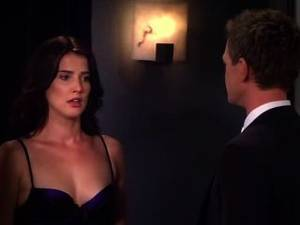 Cobie Smulders Alyson Hannigan Fuck - Cobie Smulders In How I Met Your Mother S08e09