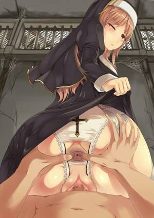 best anime anal - Naughty nun