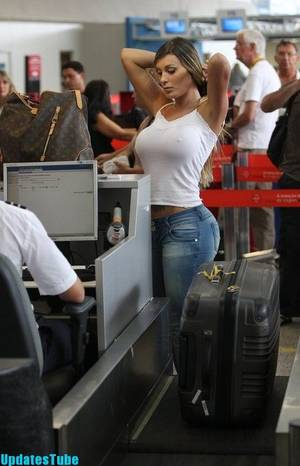 Airline Strip Search Porn - Random Strip Search Funny Hot Lady No Bra Airport Security Humor
