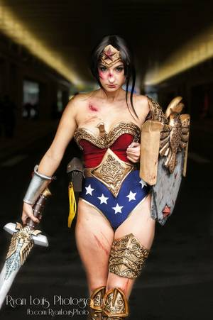High Resolution Wonder Woman Reality - 9 cosplays that Reddit weirdly marked NSFW