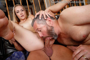 Mmf Bisexual Cum Eating - xpics.me - hairy pussy Sadie blair in mmf bisexual 3way at cum eating  cuckolds