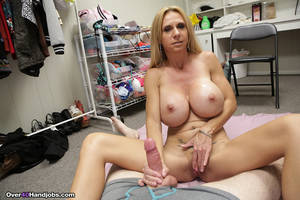 naked mother handjobs - Quality porn Naked mom cum handjob