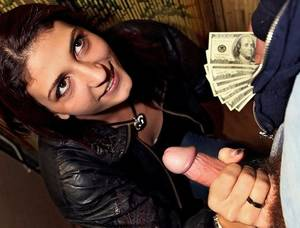 For cash handjob Coffe tube